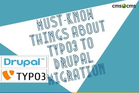 TYPO3 to Drupal Migration: The Puzzle Is Solved - News - Bubblews | Typo3 CMS Development | Scoop.it