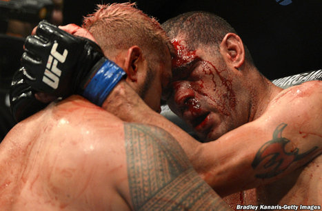 Mark Hunt vs. 'Bigfoot' Silva: Photo gallery of UFC Fight Night 33′s epic bloody battle | What's new in Visual Communication? | Scoop.it
