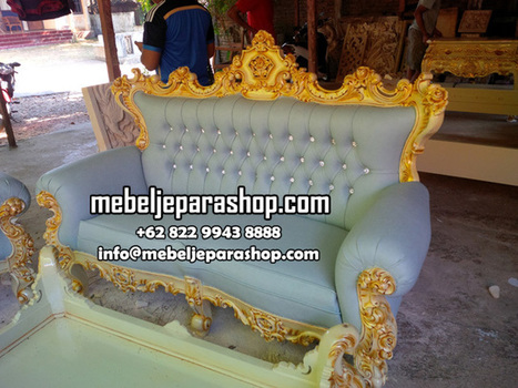 Kursi Tamu Ukir Mewah Jepara | MEBEL JEPARA SHOP | Mebeljeparashop | Scoop.it
