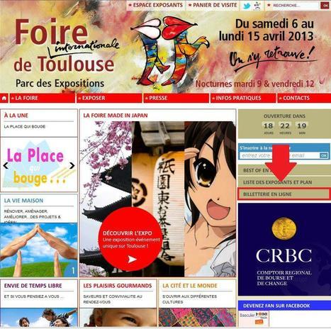 Twitter / foiredetoulouse : La billeterie en ligne de la #Foire ! - CHER & + PRATIQUE : un tarif unique web à 5 euros   La lettre de Toulouse   Scoop.it