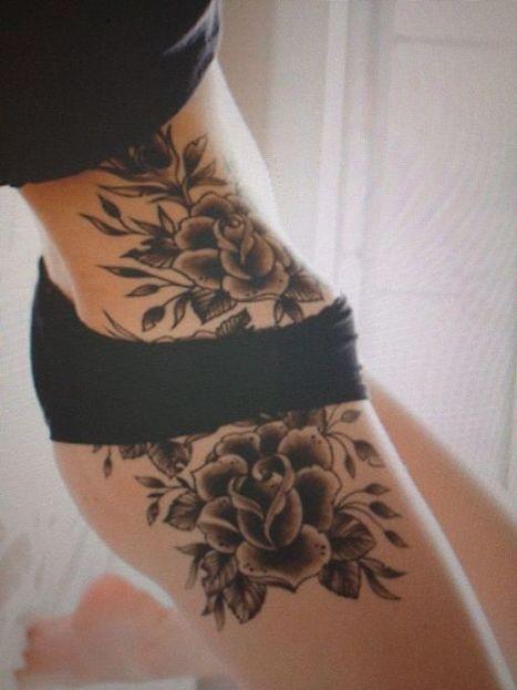 40 Sexy Hip Tattoo Designs For Women | Tattooed | Scoop.it