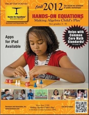 Hands-On Equations | algebra fun | Scoop.it