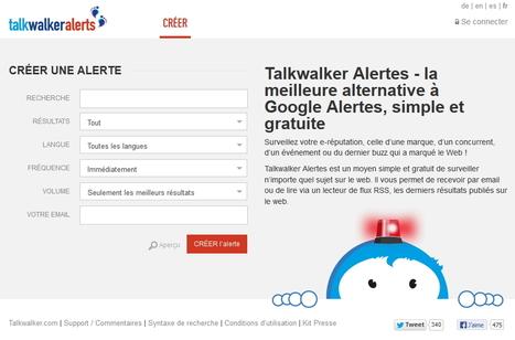 TalkWalker Alerts : l'alternative de Google Alerts | Le Top des Applications Web et Logiciels Gratuits | Scoop.it