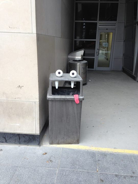 Street artist Aiden Glynn turns boring street objects into funny characters | Street art news | Scoop.it