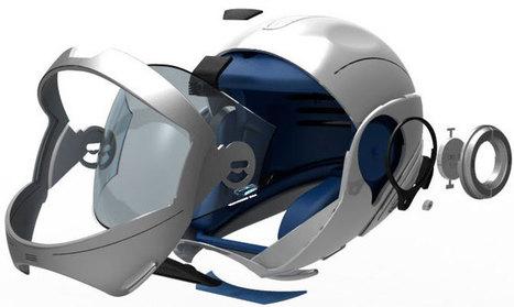 Next Australian Highway Patrol Helmet - HUD Display - Augmented Reality | HUD Display and Augmented Reality | Scoop.it