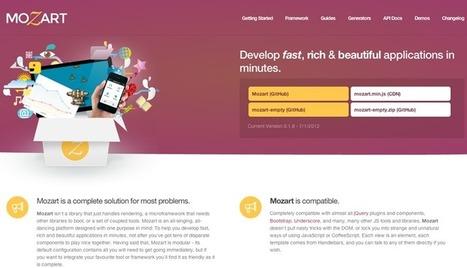Mozart, a CoffeeScript MVC Framework that let you dance | Coders Grid | CoffeeScript | Scoop.it