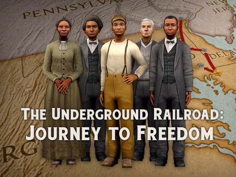 The Underground Railroad: Journey to Freedom | digital divide information | Scoop.it