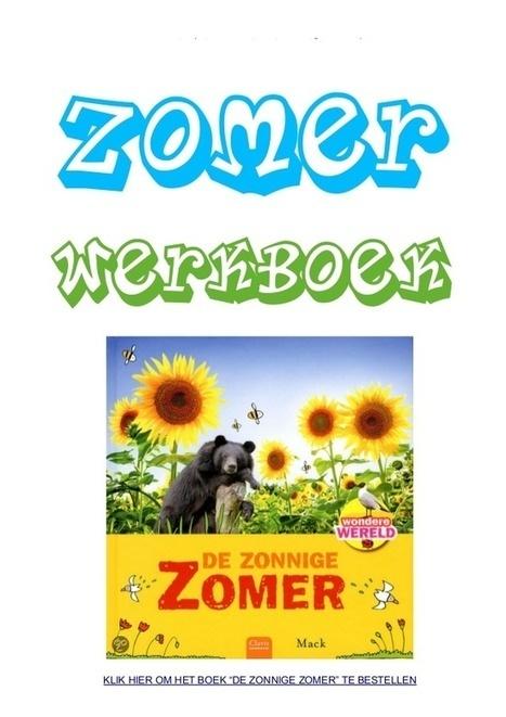 Zomer werkboek met werkbladen over zon,  zonnewende en vakantie van schoolgoochelaar Aarnoud Agricola   Gratis thema-werkboeken van schoolgoochelaar Aarnoud Agricola uit Utrecht   Scoop.it