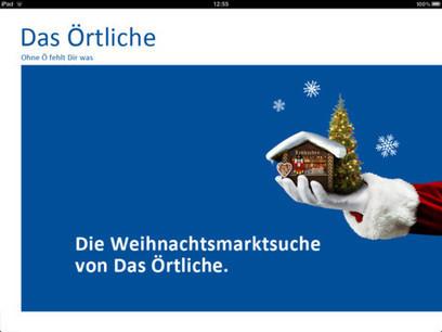 App Store - Weihnachtsmarkt-Suche in ganz Deutschland von Das Örtliche   Apps and Widgets for any use, mostly for education and FREE   Scoop.it