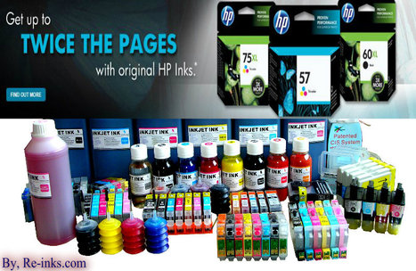 How To Choose Hp Inkjet Cartridges And Ink Refill Kits   Tips About Printer Cartridges - Shop.re-inks.com   Scoop.it
