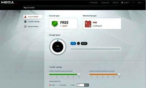Así será el nuevo MEGA que ofrecerá 50 Gb de almacenaje gratuito   Recull diari   Scoop.it