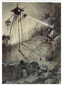 Mundo Fantasmo: 4024) Os marcianos de Wells (15.1.2016) | Ficção científica literária | Scoop.it