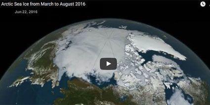 Arctique: les images choc de la Nasa | Planete DDurable | Scoop.it