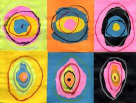 Torn Paper Kandinsky Art | Art and activism | Scoop.it