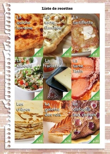 Autour de la gastronomie: Recettes et activités pour la classe avec Pearson FLE | Foreign Language Classroom | Scoop.it