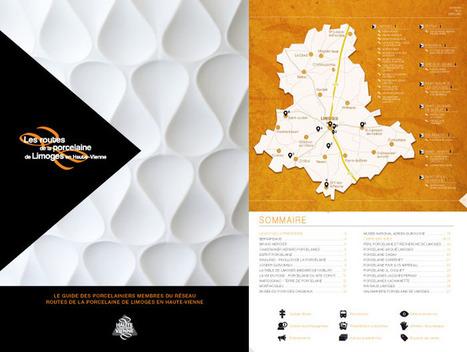 Haute-Vienne Tourisme (cdt87) - blog professionnel: Nouvelle plaquette des Routes de la porcelaine de Limoges en Haute-Vienne | Haute-Vienne Tourisme | Scoop.it