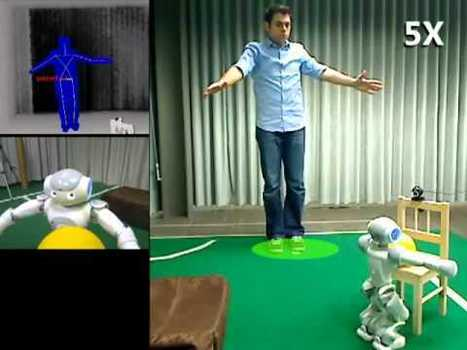 Humanoid Robot Control and Interaction using Depth Camera | Strauss' Ed Topics | EngineeringGTT | Scoop.it