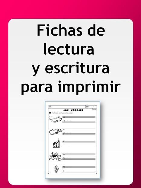 Fichas de lectura y escritura para 1º-2º EP | #TuitOrienta | Scoop.it
