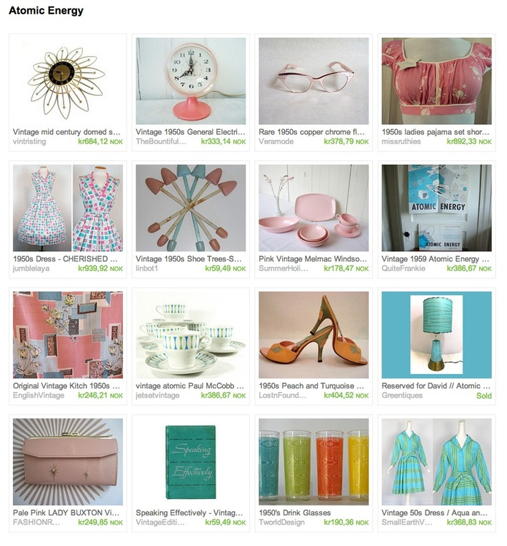 friday treasury with guest curator Lindsay from VintageGirLNY | Antiques & Vintage Collectibles | Scoop.it