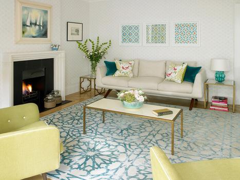 Weave Some Decorating Magic with Trellis Patterns   Designing Interiors   Scoop.it