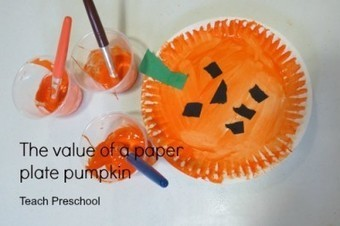 The value of a paper plate pumpkin | Teach Preschool | Scoop.it