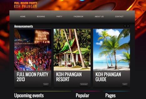 Full Moon Party Koh Phangan Thaïlande   Blog   Scoop.it