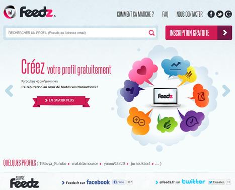 Feedz, l'e-Réputation au coeur de vos transactions | Time to Learn | Scoop.it
