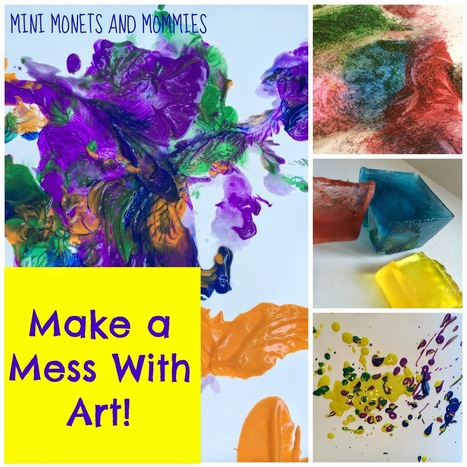 Mini Monets and Mommies: 7 Ways to Build Fine Motor Skills with Messy Art Activities | Sensory Activities | Scoop.it