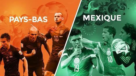 Avant match : Pays-bas - Mexique - Coupe du monde - Brésil 2014 | Coupe du monde - Brésil 2014 | Scoop.it