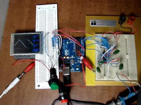 Osciloscopio casero de 2 Mhz con Arduino - BricoGeek.com | InternetdelasCosas | Scoop.it