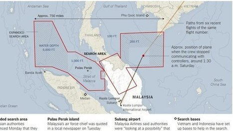 Online and Onscreen, Disappeared Malaysian Flight Draws Intense Speculation - New York Times | Business and Online | Scoop.it
