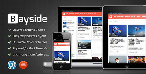 55+ Best Responsive Magazine Wordpress Themes | DesignMaz | Sketchthemes | Scoop.it