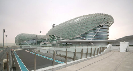 Abu Dhabi, United Arab Emirates:  The Yas Hotel (Day)Asymptote... | The Architecture of the City | Scoop.it