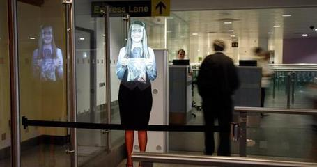 "Airport avatars offer travel advice | L'impresa ""mobile"" 