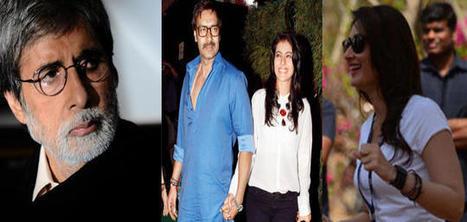Kajol, Tanuja, Kareena Kapoor finds mention in Amitabh Bachchan's blog | Satyagraha | Scoop.it