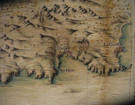 Cassis : la cartographie des calanques du Moyen-Âge au XXe siècle | PnCal -revue de web | Scoop.it