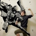 Comic Book Illustrations Into the Real World   Illustration et dessin   Scoop.it