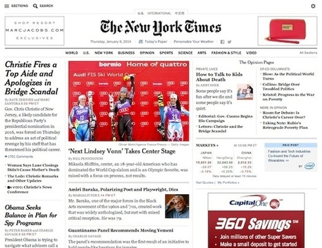 This Week in Review: The Times launches native ads, and Yahoo's against-the-flow news app | Media developments and News | Scoop.it