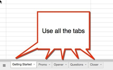 Moderating a Twitter Chat: Google Sheets Template - Teacher Tech | ITL | Scoop.it