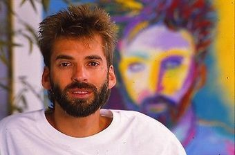 KENNY LOGGINS & WATERCOLOR PORTRAIT 35mm Transparency Slide ONE-OF-A-KIND KL04 @kennyloggins | Keith Russell Collections | Scoop.it