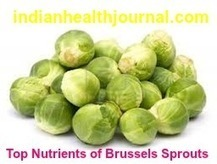 10 Top and Best Nutrition facts of Brussels sprouts |Health Benefits & Uses | indianjouranalhealth.com | Scoop.it