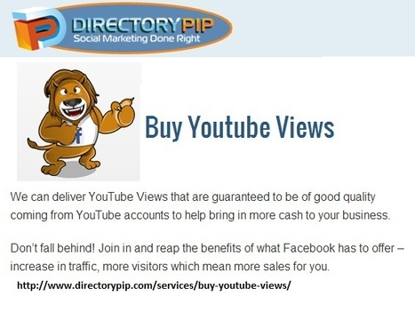 Buy Youtube Views Purchase Youtube Views Buy Views For Youtube | Boost Traffic to your Site | Scoop.it