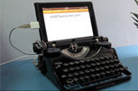Let Old Meet New With a USB Typewriter for Tablets - PCWorld | Mobile, Tablets & More | Scoop.it