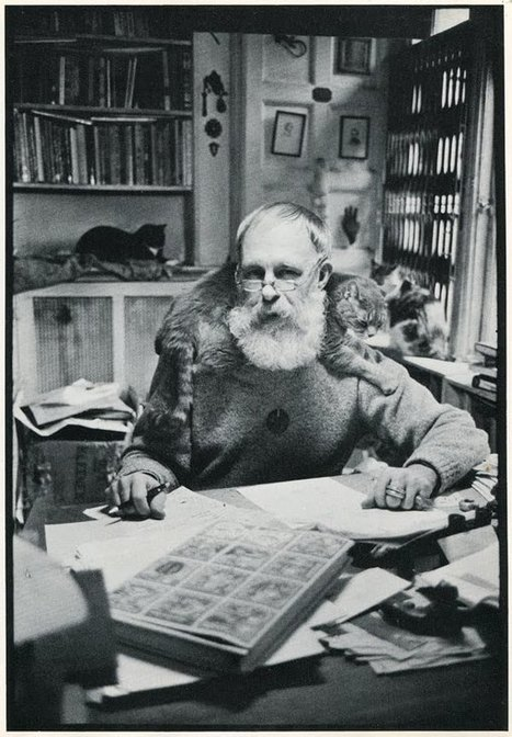 famouspeoplepluscats: edward gorey and a few... | Cats Everywhere | Scoop.it