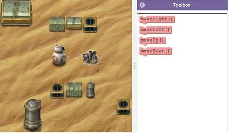 Este curso onlineenseña a programar usando personajes de Star Wars: The Force Awakens   EducaTic!   Scoop.it