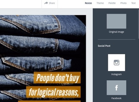 3 Tools to Create Social Media Visuals : Social Media Examiner | Web Design and Development | Scoop.it