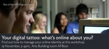 Your Digital Tattoo: what's online about you?   Digizen2013   Scoop.it
