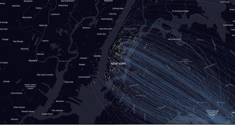 Data visualization : Uber présente ses outils et c'est magnifique. | Innovation & Data visualisation | Scoop.it
