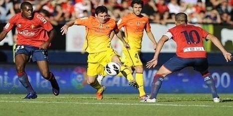 Prediksi Skor Osasuna vs Barcelona 20 Oktober 2013 | Steven Chow | Scoop.it