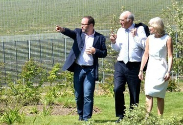 Vins effervescents : inauguration de la plus grande winery anglaise (1 million de cols) | Le vin quotidien | Scoop.it